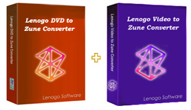 Lenogo DVD to Zune Converter + Video to Zune Powerpack icon